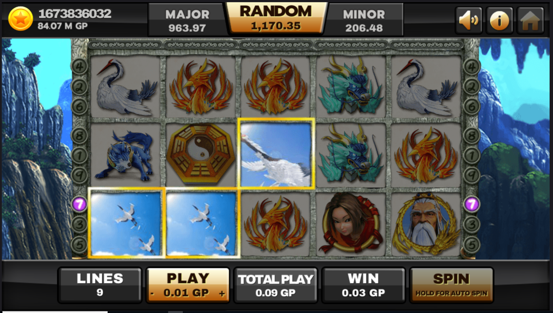 Play slots online for real money